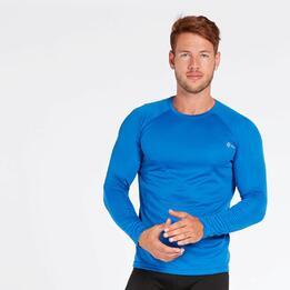 Camiseta Running Azul Ipso Combi
