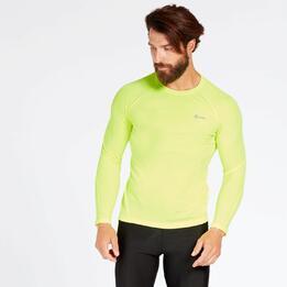 Camiseta Running Amarillo Ipso Combi