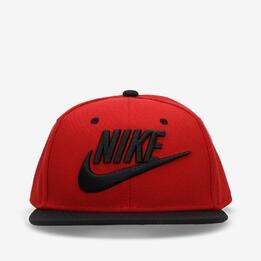 Gorra Nike Roja Hombre