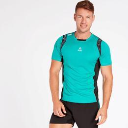 Camiseta Running Turquesa Hombre Ipso Experience