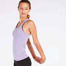 Camiseta Nadadora Violeta Mujer Ílico
