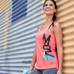 Camiseta Gym Coral Ilico