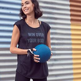 Camiseta Gym Negra Ilico
