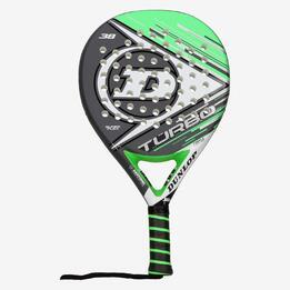 Pala Pádel Dunlop Turbo Negro Verde