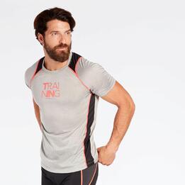 Camiseta Running Gris Ipso