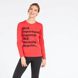 Camiseta Coral Up Stamps
