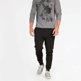 Pantalón Jogger Negro Silver Psyco