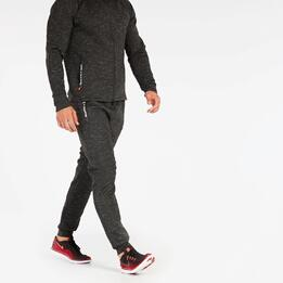 Pantalón Jogger Negro Silver Tech