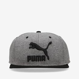 Gorra Plana Puma Snapback Gris