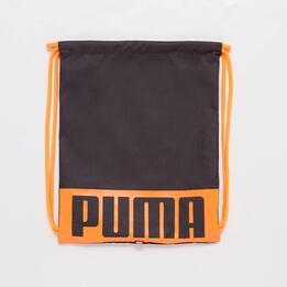 Gymsack Puma Negro Naranja