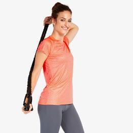 Camiseta Running Puma Coral