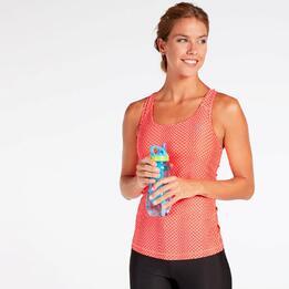Camiseta Nadadora Puma Coral