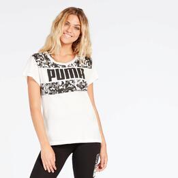 Camiseta Blanca Puma Mujer Energized