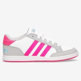 Zapatillas adidas Hoops Blancas Niña (36,5-40)