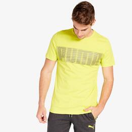 Camiseta Puma Active Hero Verde