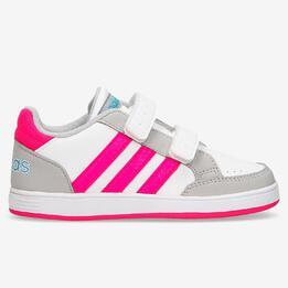 Zapatillas adidas Hoops Blancas Niña (20-27)