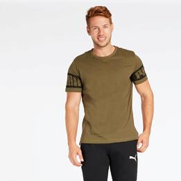 Camiseta Puma Rebel Verde
