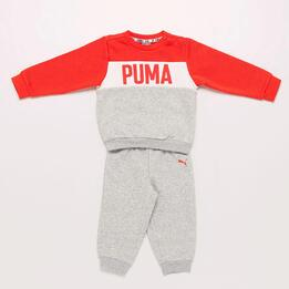 Chándal Puma Gris Bebé