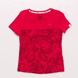 Camiseta Rosa Fucsia Puma Style