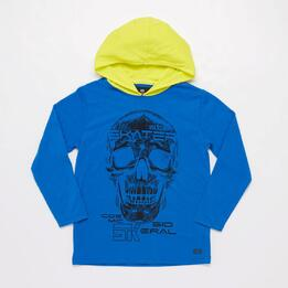 Sudadera Capucha Junior Silver Planet