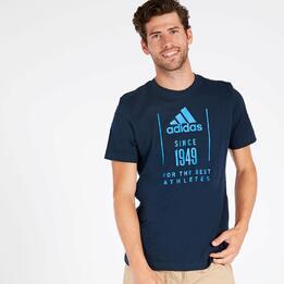 Camiseta adidas 1949 Marino Hombre