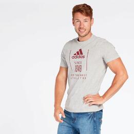 Camiseta adidas 1949 Gris Hombre