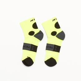 Calcetines Ciclismo MÍTICAL Amarillo Negro Hombre