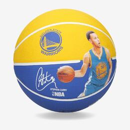 Balón Básket SPALDING Stephen Curry Amarillo