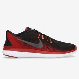 Zapatillas Running Nike Flex Rojas Hombre