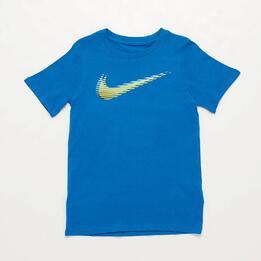 Camiseta Nike Azul Niño