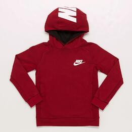 Sudadera Nike Roja Niño