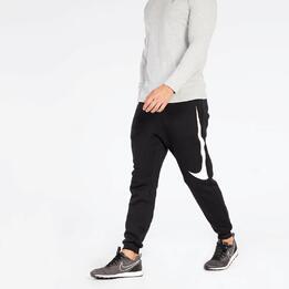 Pantalón Jogger Nike Negro Blanco