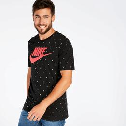 Camiseta Negra Nike Futura