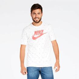 Camiseta Blanca Nike Futura