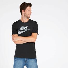 Camiseta Nike Futura Negra Hombre