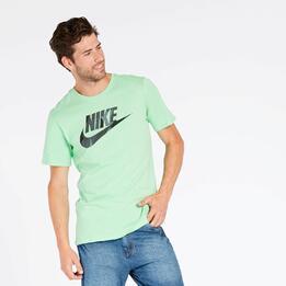 Camiseta Nike Futura Verde Hombre