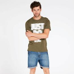 Camiseta Nike Verde Hombre