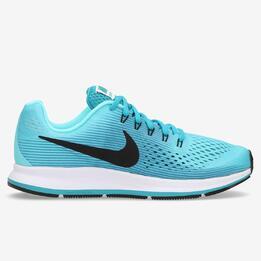 Zapatillas Running Nike Pegasus Azules Niña (36.5-38.5)