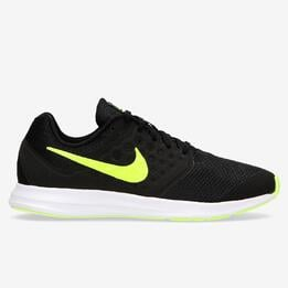 Zapatillas Running Nike Downshifter Negras Niño (36.5-40)