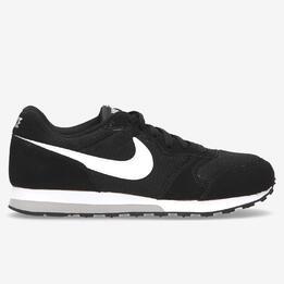 Zapatillas Nike MD Runner Negras Niño (36,5-40)