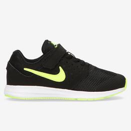 Zapatillas Running Nike Downshifter Negras Niño (28.5-35)