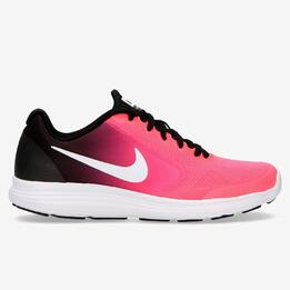 Zapatillas Running Nike Revolution 3 Coral Niña (36,5-38,5)