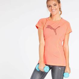 Camiseta Gym Puma Coral