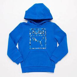 Sudadera Azul Niño Puma Camo