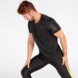 Camiseta Running adidas Negra