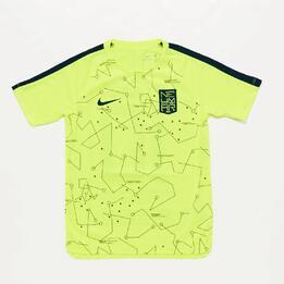 Camiseta Neymar Nike Amarilla Junior