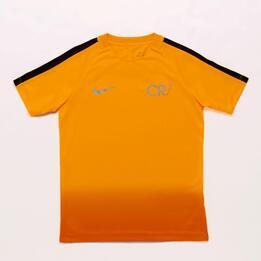 Camiseta Fútbol Cr7 Nike Amarilla