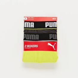 Pack Calzoncillos Puma Boxer Amarillo Negro