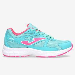 Zapatillas Running Azules Celeste Mujer Joma Meta