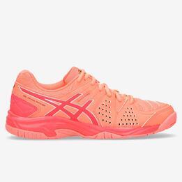 Zapatillas Padel Asics Corales Mujer